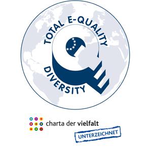 Logo Total E-Quality & Charta der Vielfalt