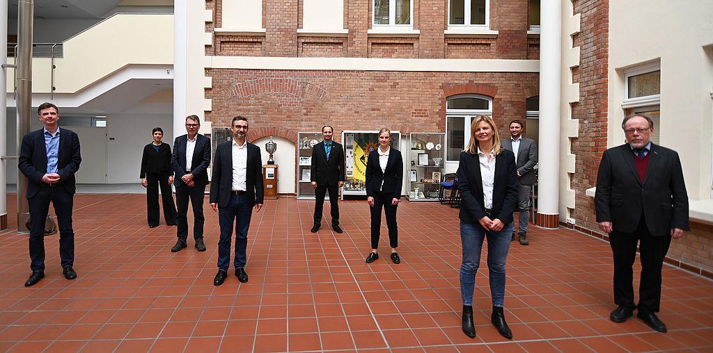 Gruppenfoto des Landespersonalausschusses