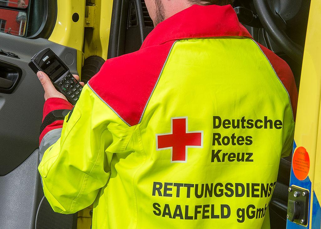 Symbolybild Rettungsdienst Weste