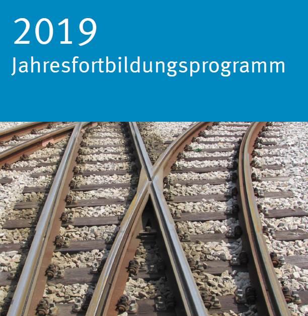 Titelbild Jahresfortbildungsprogramm 2019